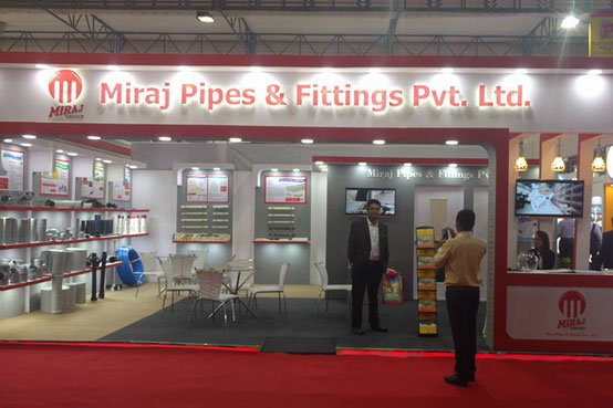 Miraj Pipes at #PLASTIVISIONINDIA2017